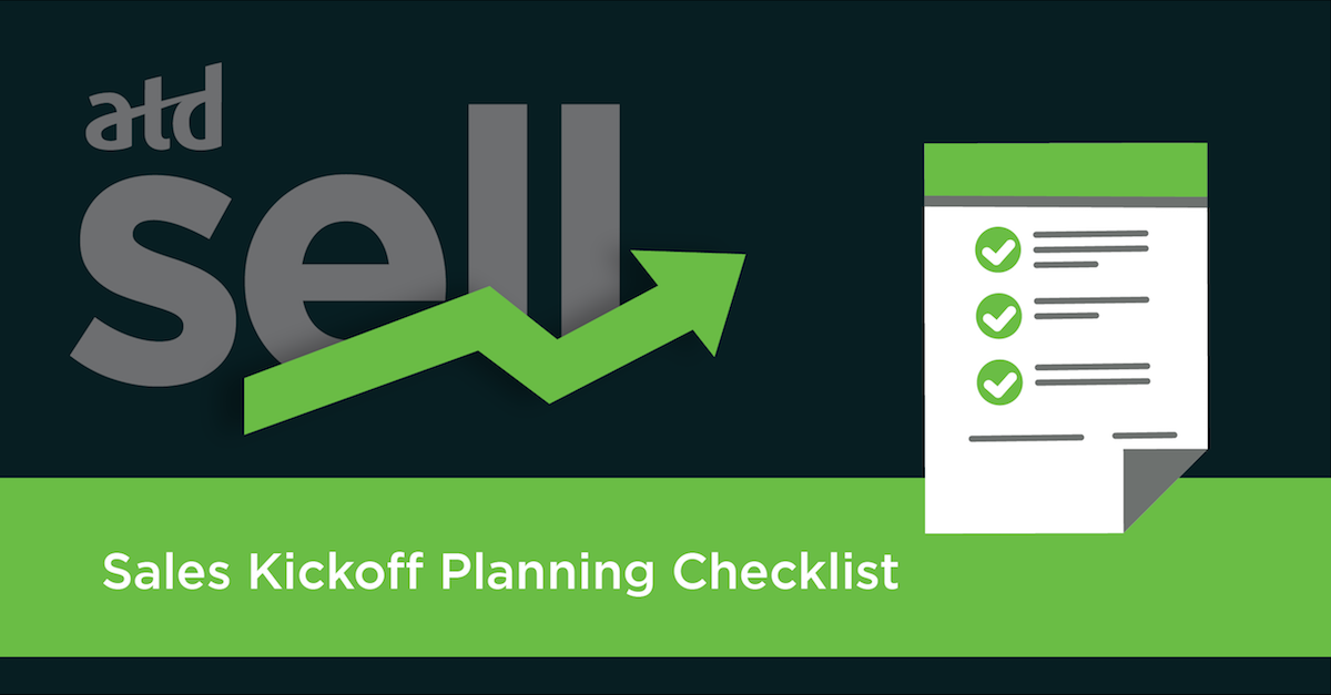 Sales Kickoff Planning Checklist